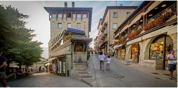 SAN MARINO AS A TOURIST COUNTRY