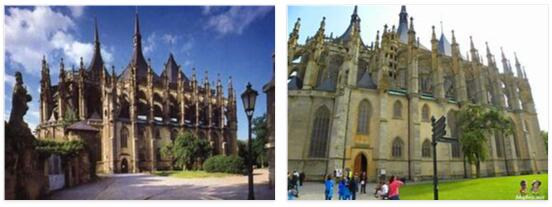 Kutná Hora and St. Mary's Church in Sedlec (World Heritage)
